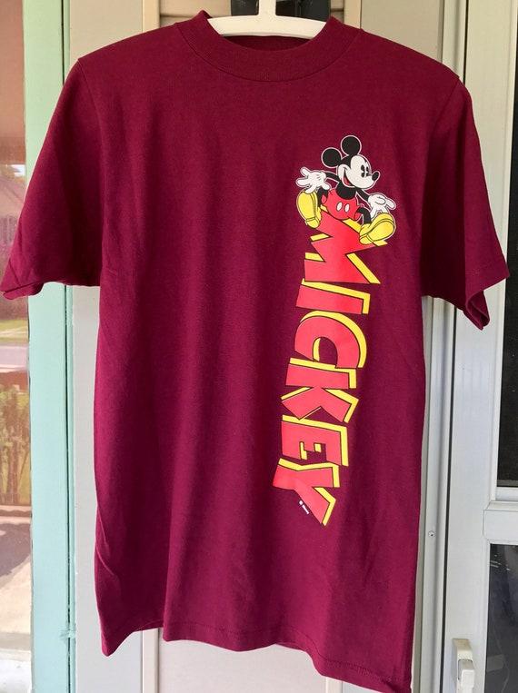 Vintage Disney Shirt Mickey Mouse Shirt 90s Disney