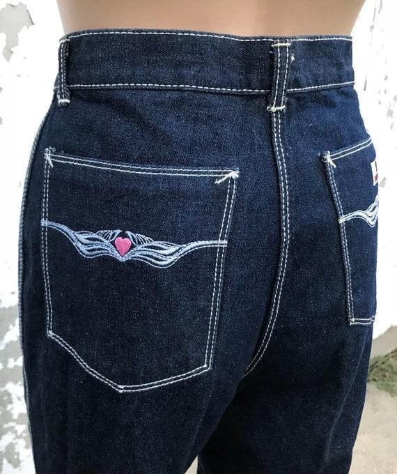 Disco 70s Jeans Glam Rick Disco Pants 70s Clothin… - image 4