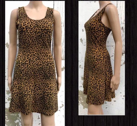 Leopard Dress Leopard Print Dress Cheetah Print Dr