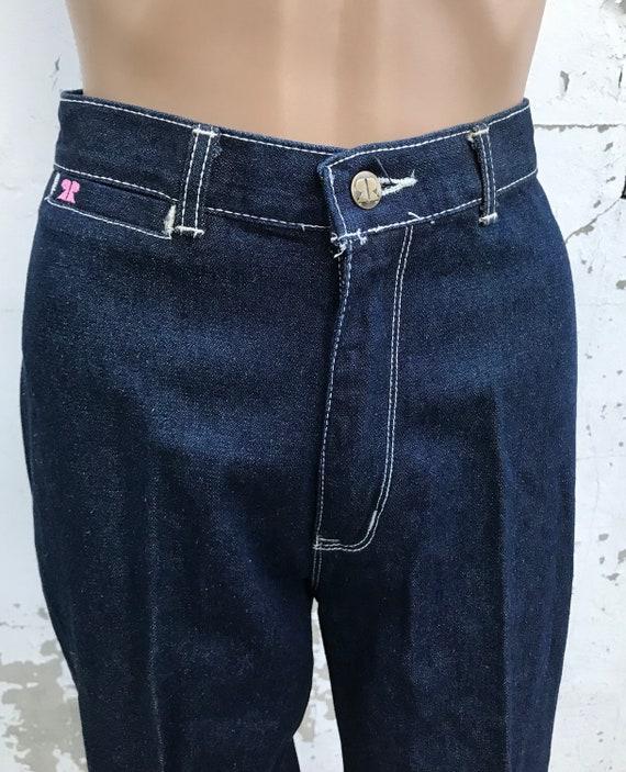 Disco 70s Jeans Glam Rick Disco Pants 70s Clothin… - image 7
