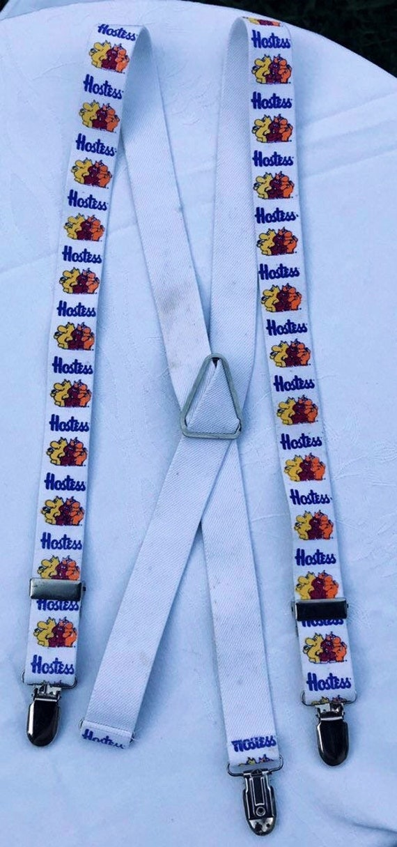 Suspenders Hostess Potato Chips Vintage Hostess Mu