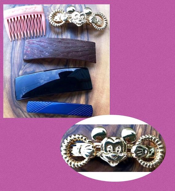 Hair Clip Barrettes Women's Hair Clip 80s Hair Cli