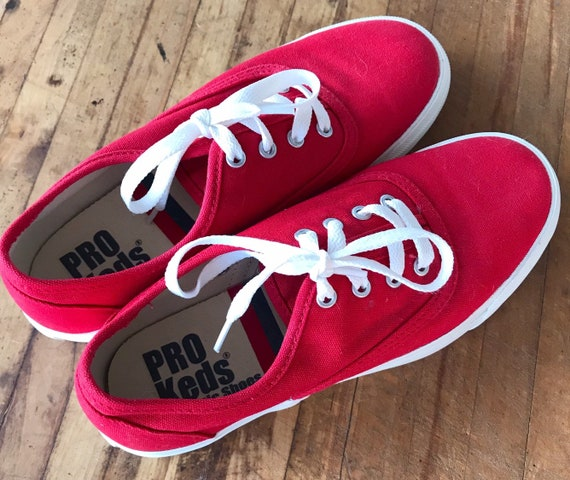 Retro Pro Keds Sneakers Canvas Running Shoes Women