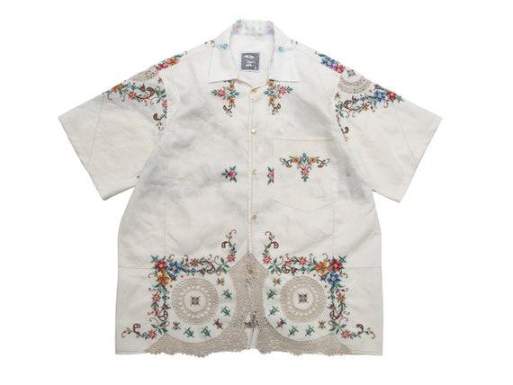 hand embroidered shirt