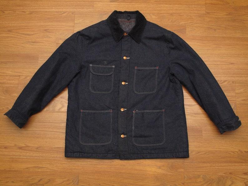 0e8bc0a2 Vintage Wrangler Blue Bell denim chore jacket | Etsy
