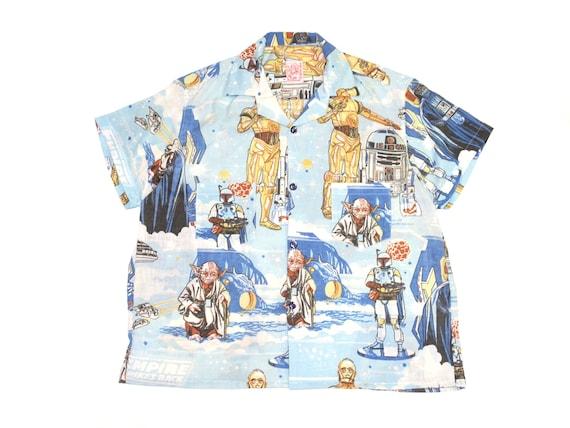 HAND MADE star wars camp shirt