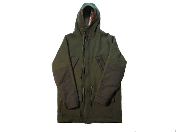 HAND MADE US army blanket parka