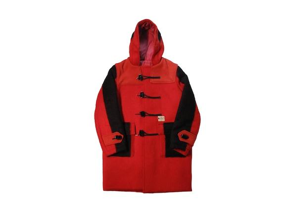 HAND MADE Hudson Bay blanket duffle coat