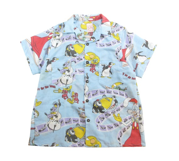 HAND MADE Roger Rabbit aloha shirt