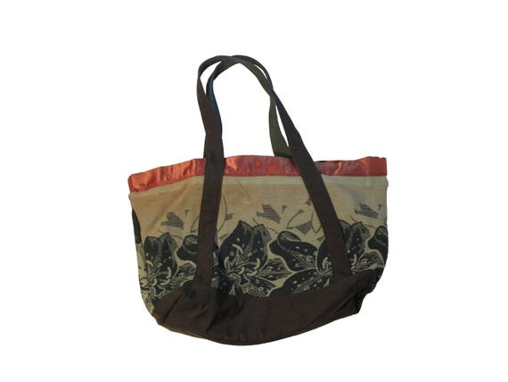 HAND MADE camp blanket zippered tote bag