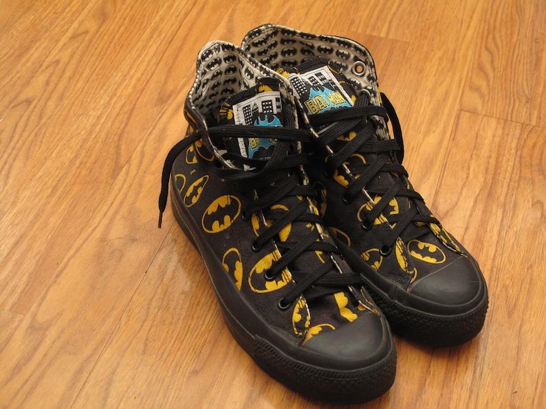 843cb1b5c9c6 Vintage 80s Batman Converse Chuck Taylor all stars