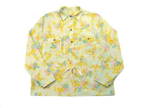 HAND MADE pullover mechanics shirt