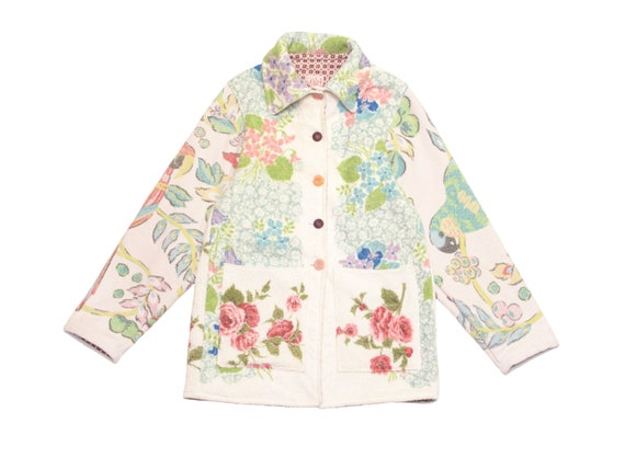HAND MADE womens beach jacket