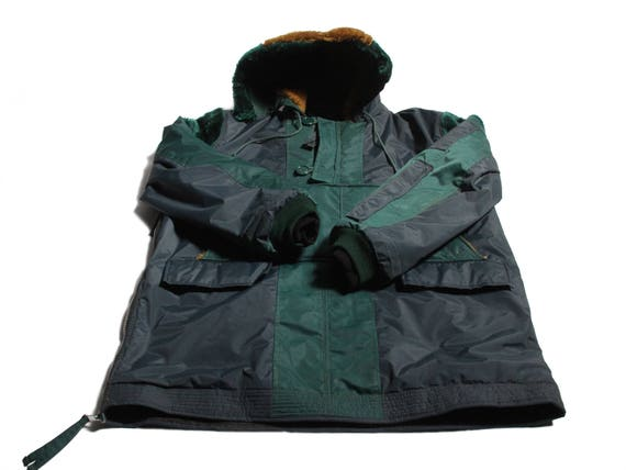 HAND MADE pullover nylon cagoule