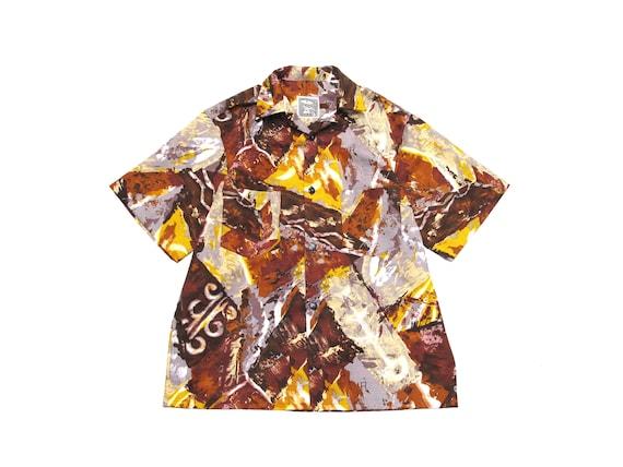 barkcloth camp shirt