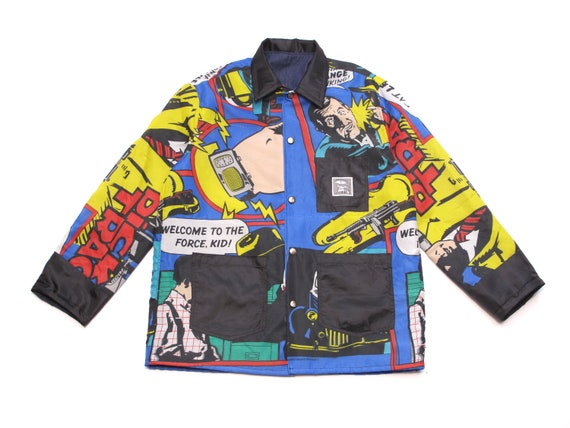 HAND MADE Dick Tracy chore jacket
