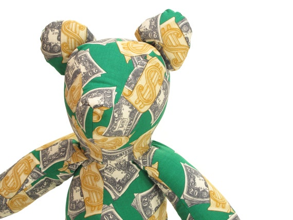 HAND MADE millionaire bear