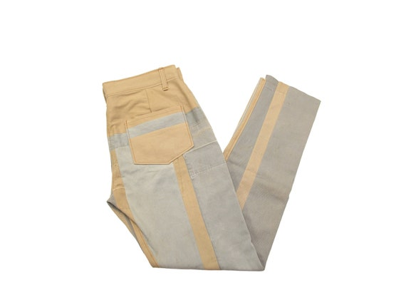 HAND MADE reassembled work pants