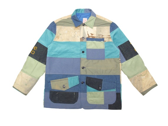 "HAND MADE ""rainbow lake"" hunting jacket"