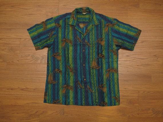 vintage Hookano aloha shirt