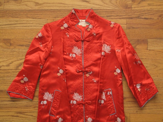 vintage tailor made Chinese dress