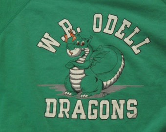 vintage dragons crewneck sweatshirt