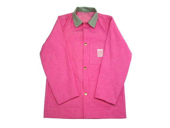 HAND MADE selvedge denim chore jacket