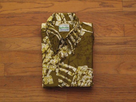 vintage Kahala aloha shirt