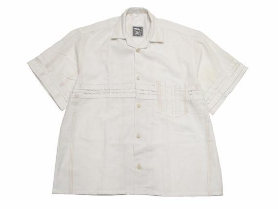 tea towel camp shirt
