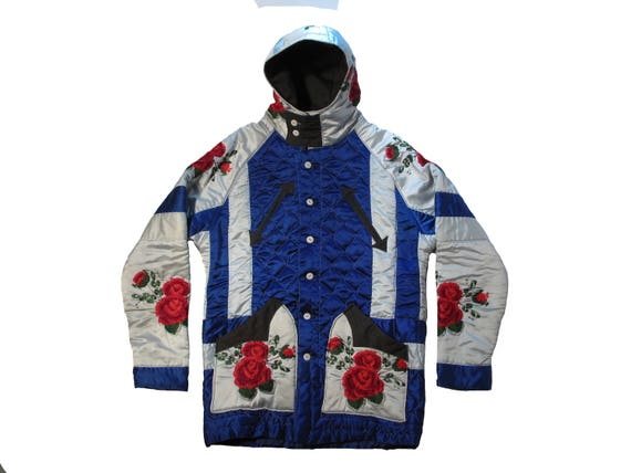 HAND MADE Embroidered Quilt Parka