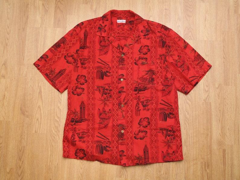 vintage made in Hawaii aloha shirt