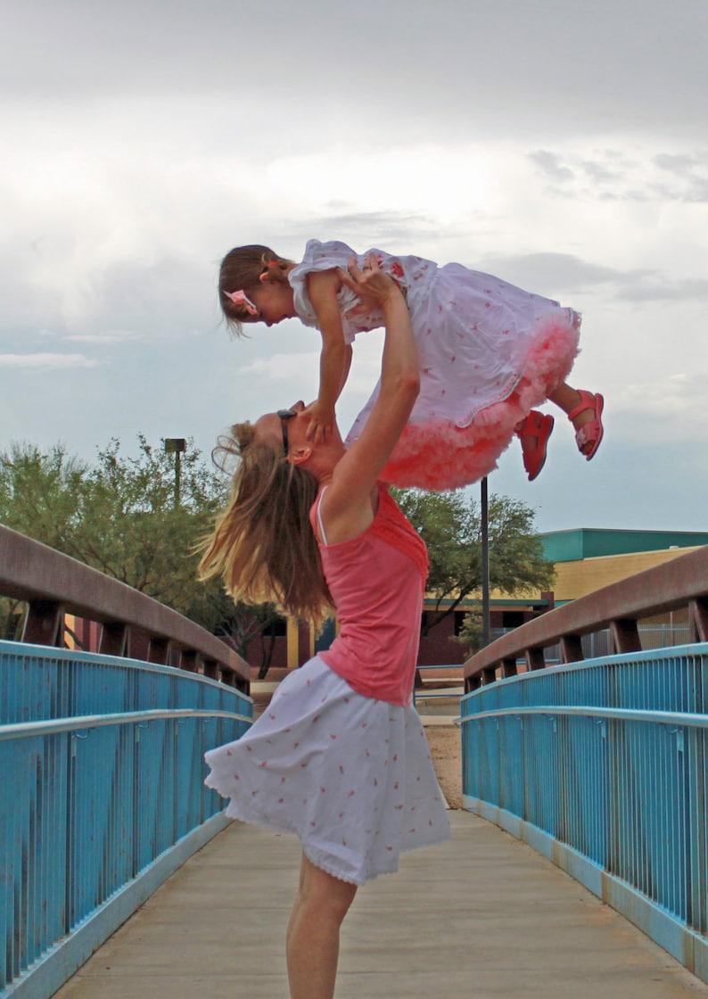 Mommy and Me Twirl Skirt PDF pattern tutorial woman women image 0