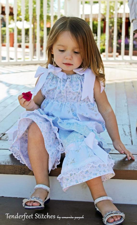 Toddler Boutique Patterns for Dresses