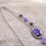 Pokémon Necklace - GENGAR - Gamer Gear - Pokemon GO - Ghost necklace - Gastly, Haunter - Fairy Kei