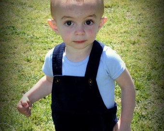 Navy Blue Corduroy - A Good Day OVERALLs