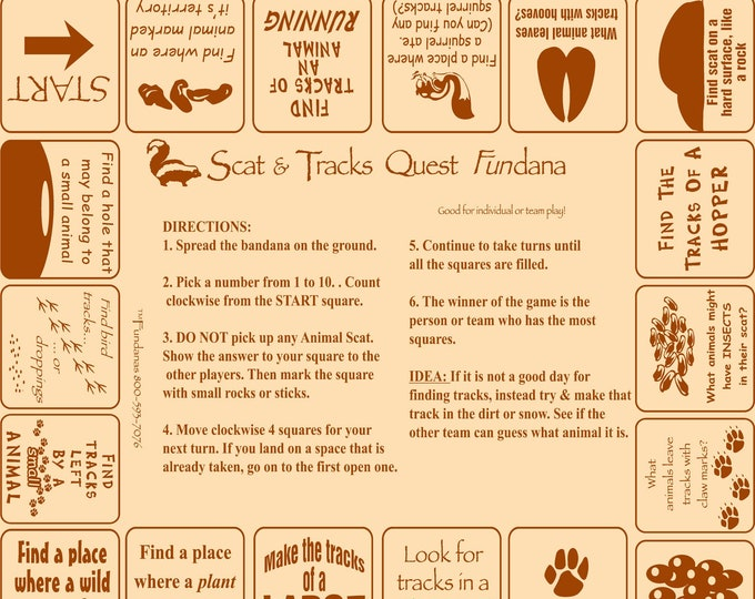 Discover Wildlife! Fun, hands on scavenger hunt game. Learn about animal tracks, poop, behaviors! Great for kids at home, scouts, camp!