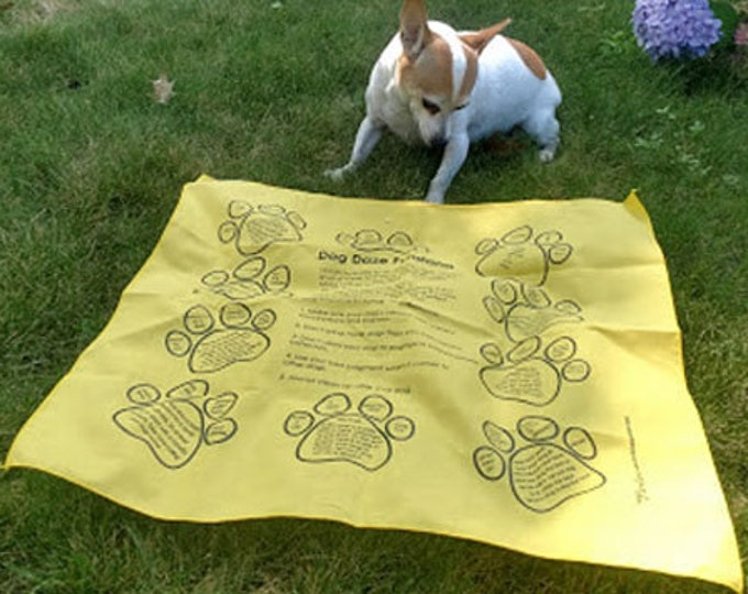 New! For Dogs and Kids!! Dog Daze Fundanas! 10 Fun Games to Play with your dog. Great for dog parks, backyards, puppies, new dogs, old dogs!
