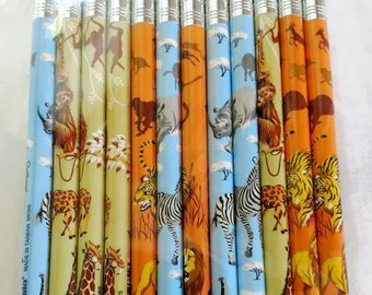 New! Fun Animal Mechanical Pencils! Zebras, Lions, Monkeys, Giraffes! Great for birthday favors, jungle themes. .25 each. Sold in dozens.