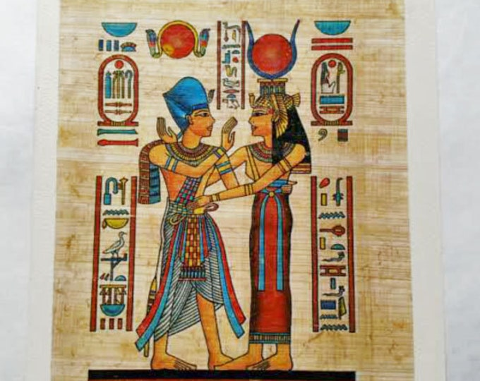King and Queen on Papyrus Notecard. A unique gift idea for anniversary, or a nice way to send a note to your husband, wife or loved one