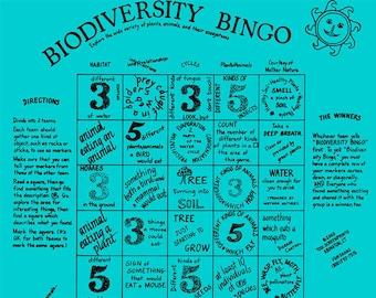 Water, plants, insects, weather, habitats! A fun, bingo game with hands on activities that make the complex topic of biodiversity simple!!