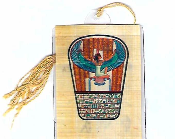New! Goddess of Motherhood, Magic Egyptian Papyrus bookmark. Great for your wife, sister, grandmother, teacher, Christmas, Kwanzaa!