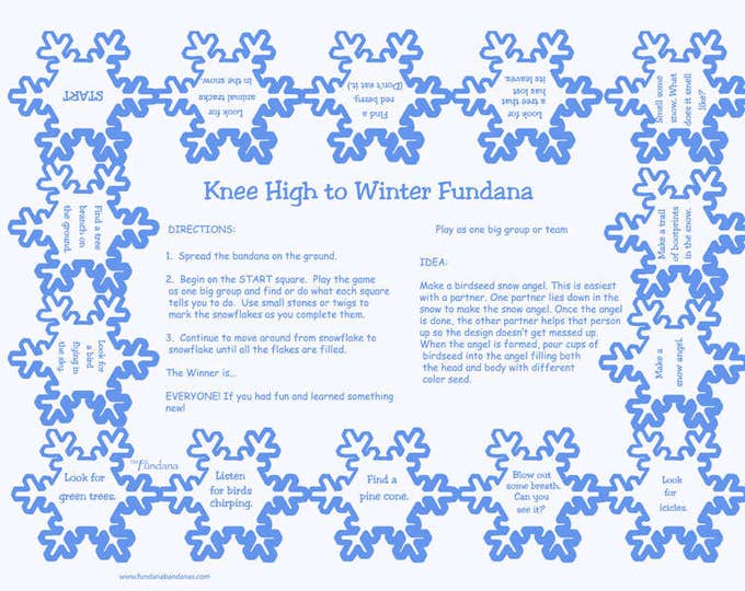 Fun Winter Scavenger Hunt Game for Kids 3-6 Years old. A great way to get young kids outdoor learning, having fun. Winter family activity