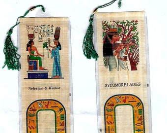 New! Special Price! Just 4.00! Nefertari and Hathor with the Sycomore Ladies!! Great gift for mother, best friend, wife!
