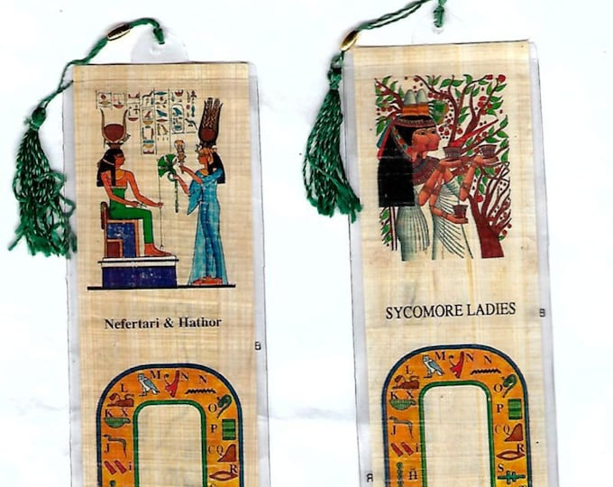 New! Special! Two for the price of one! Nefertari and Hathor with the Sycomore Ladies! Just 2.75! Great gift for mother, best friend, wife!