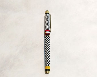 New! Modern Art Smooth Writing Rollerball pen! Unique, elegant! Great gift for men, women! Mondrian, modern art gift