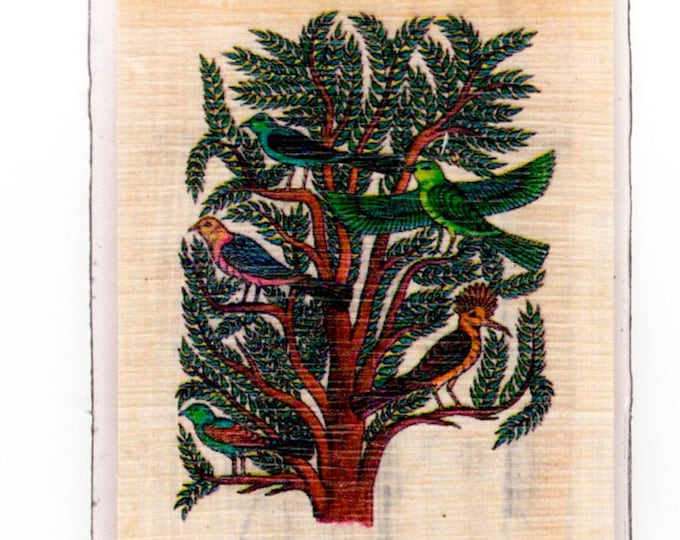 New! Acacia Tree Egyptian papyrus bookmark! Great for nature, tree, outdoor lovers, homeschoolers, teacher gifts, Christmas, Kwanzaa!