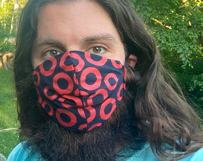New! Fishman Donuts Face Masks! reusable, washable, 100% Cotton, Cool Face Masks. Great for friends, teens and more!
