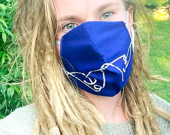 New! Got a boat? Get our Anchor Face Mask! Reusable, washable, 100% Cotton, Cool Face Masks. Wear it on your boat! Great for boaters!