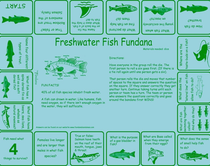 Love to fish? Play our Freshwater Fish game to learn about the amazing world of fish! Great way to introduce kids to freshwater fish.