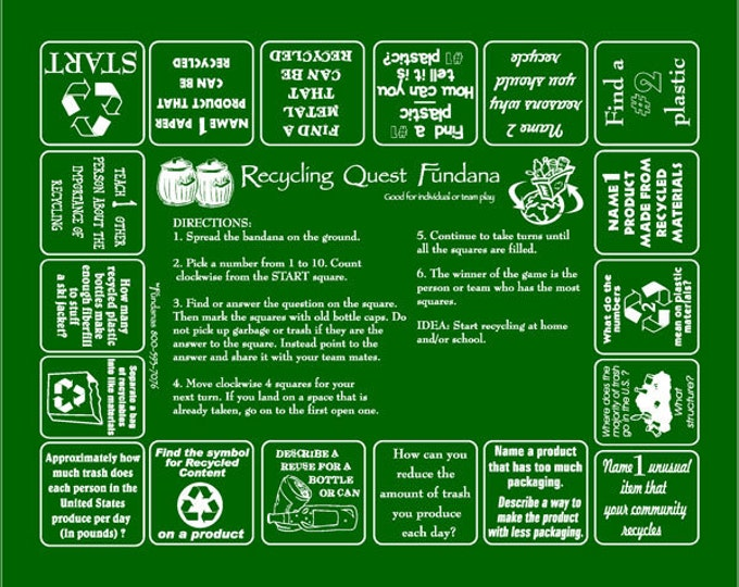 Reduce, Reuse, Recycle. Recycle Game. Great for Schools, Earth Day!